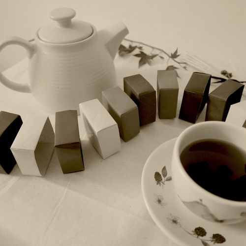 making origami boxes and reading tea leaves Origami Tea Reading Tea Leaves Traditional Japanese Boxes Masu Box OpenEdit EyeEm EyeEm Best Shots EyeEm Best Shots - Black + White Leica D-lux Typ109