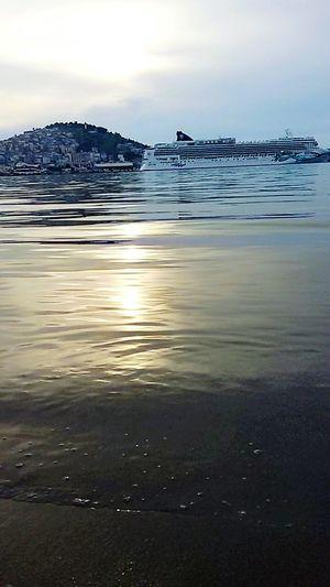 Seaside Sea View Cruise Ship Kusadasi Sessun Relaxing Time Beautiful Nature