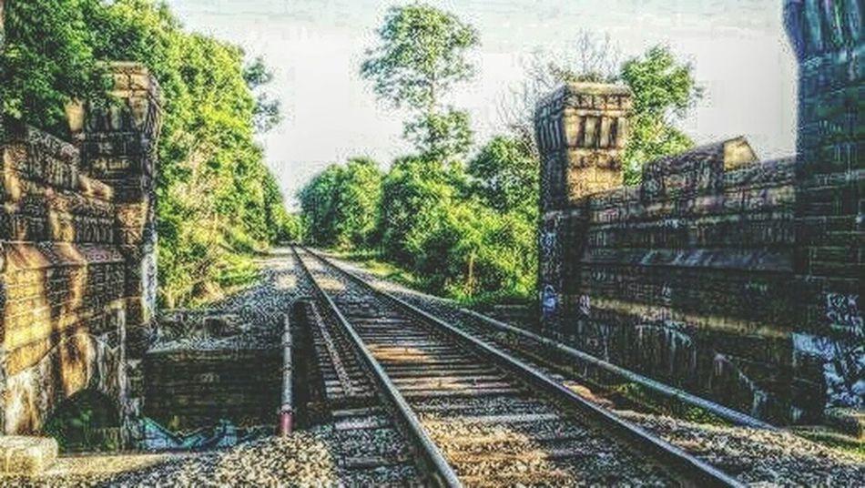 Railroad Tracks Old Places Hdr Edit Oakwood Cemetery Syracuse Ny Traintracks EyeEm Best Shots