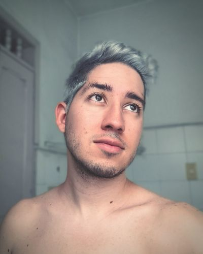 Gray haired guy