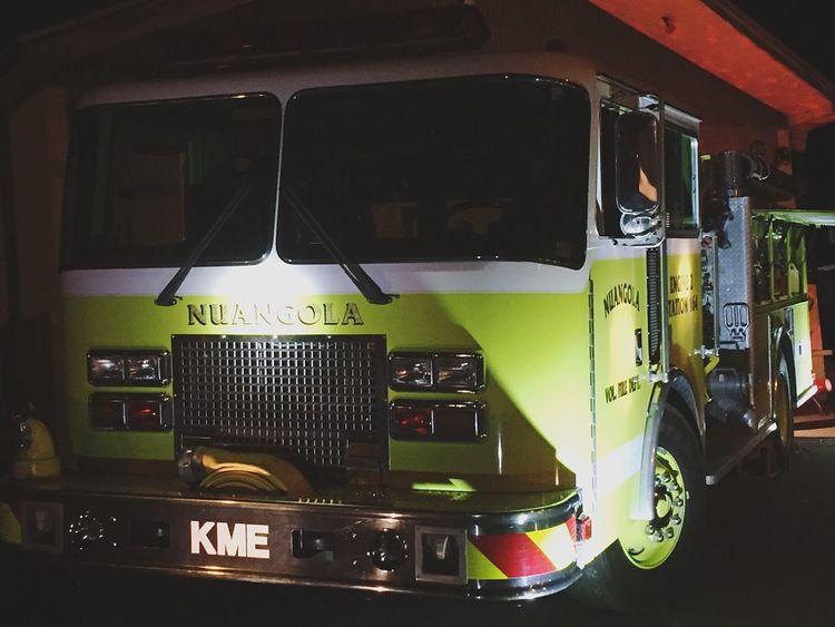 Nuangola VFD Engine 2 ex-White Haven PA Pumper Truck Fire Engine Renegade Pumper KME Fire Department Nuangola