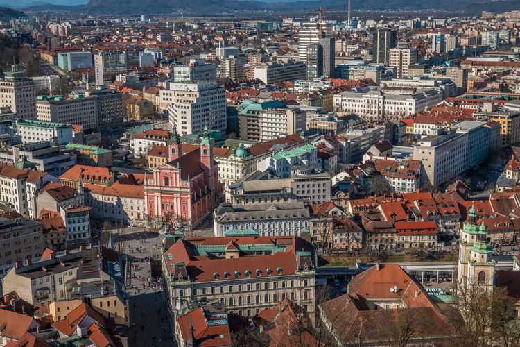 Ljubjana in Slovenia Ljubljana