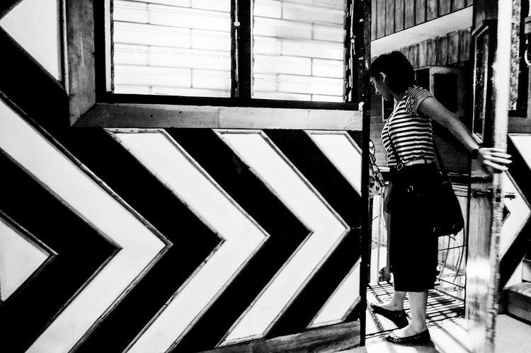 Fujifilm X100. Nov 2015. Chingkee Tea House, Hayes St, CDO. B&w Street Photography Eyeem Philippines FujiFilm X100 Fujifilm_xseries Street Photography Showcase March Up Close Street Photography The Street Photographer - 2016 EyeEm Awards Monochrome Photography