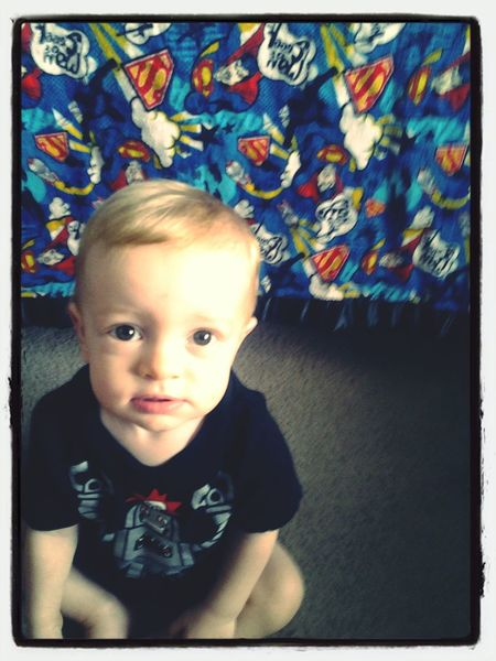 Growing up to fast. 11 months. Love My Son