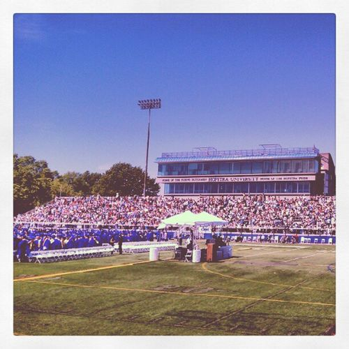 Hofstrauniversity my daughter. Class of 2012.. degree of education degree of science and speech degree in lb Art