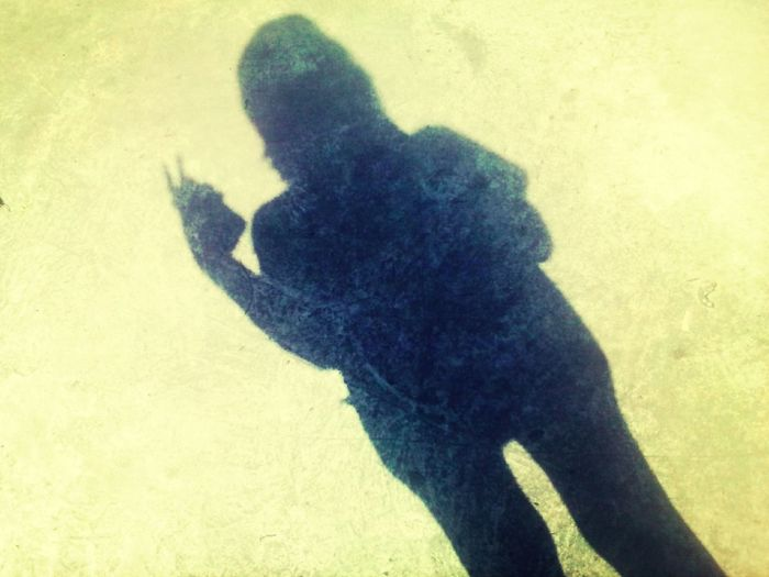 That's Me my shadow