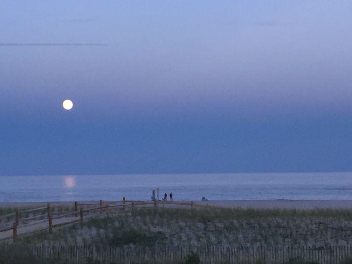 Sea Isle, NJ Full moon Beachview Full Moon