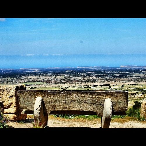 Libya Shahat Green_Mountain Chair grass river Fence old_place Beautiful nice lovely Wonderful love libyan sweet benghazi amazing loveit