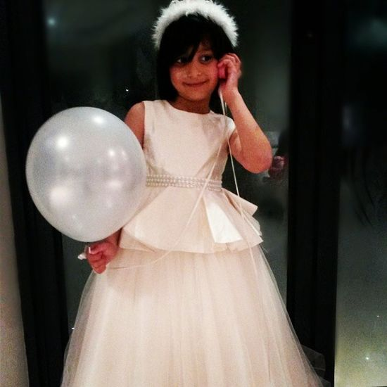 The real Queenelsa :) Birthdaygirl Shescute