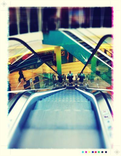 escalator in Plaisir Escalator
