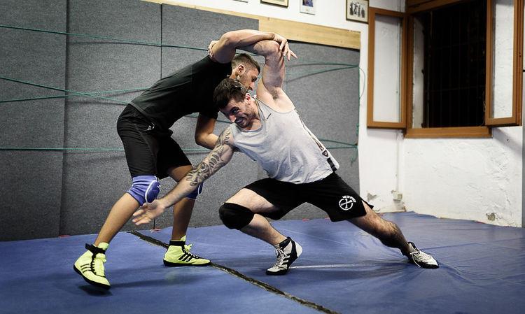 Competition Sportsman Wrestling