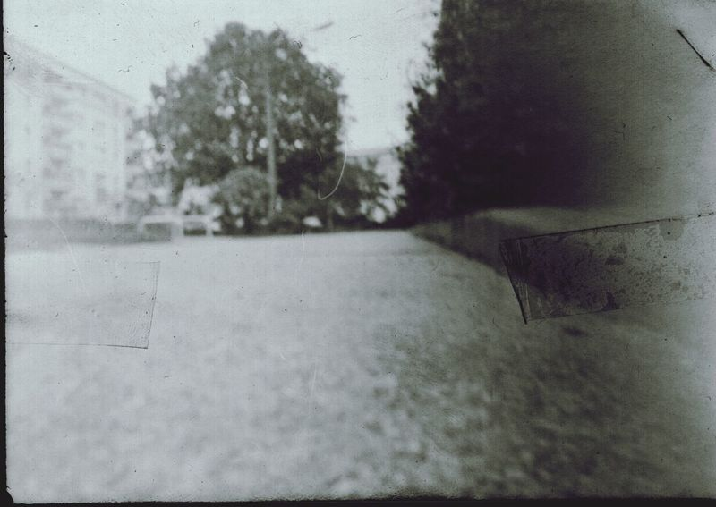 these pinhole things do a great job! 5th try but I did it. a box and photigraphix paper (and a dev lab in my basement) :) Analog Analogue Photography Pinhole Camera Urban