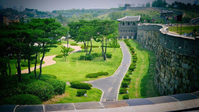 UNESCO World Heritage Site Suwon Hwaseong Fortress Architecture South Korea Traveling Photography Lx100