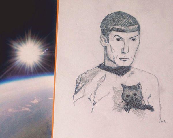 Spock Livelongandprosper Startrek Leonardnimoy