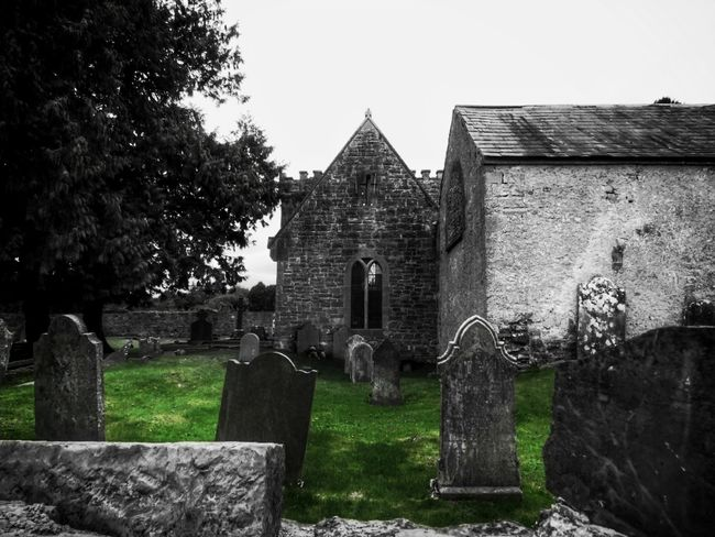 Taking Photos Check This Out From My Point Of View Ireland🍀 Ancient Places Graveyard Collection Ancient Building GraveyardShift Gravestones And Monuments Old Church Nature Ancient History Blackandwhite Splash Of Colour Tee Lane Graveyard St Mochuas Cemetery Outdoors Graveyard Built Structure Architecture The Places I've Been Graveyard Beauty Light And Shadow Eyeem2017
