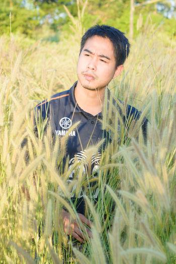 Farmer among