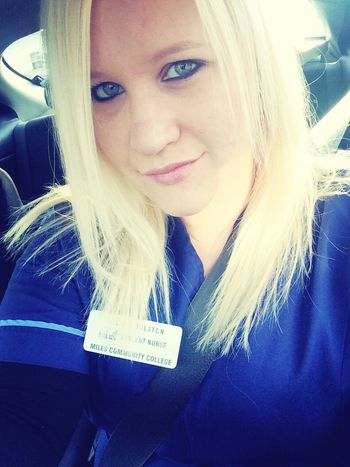 Look Of The Day  Scrubs Nursing Student Smile