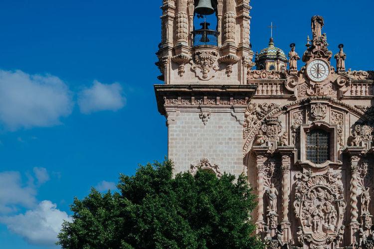 Architecture Church Churrigueresco Churrigueresque Façade Guerrero Mexico Santa Prisca Taxco  Taxco Guerrero México Colonial Pueblo Mágico Taxco De Alarcón Baroque Colonia Temple Travel Destinations