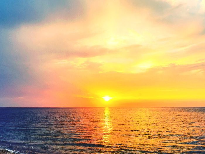 Sun Surf Sunrise Atlantic Ocean Longisland Beach New York IPhoneography Clouds And Sky