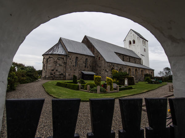 Architecture Building Exterior Built Structure Church Danmark Day Denmark Dänemark Grass House Kirke Nature No People Outdoors Residential Building Sky Tranquility Tree Vestervig
