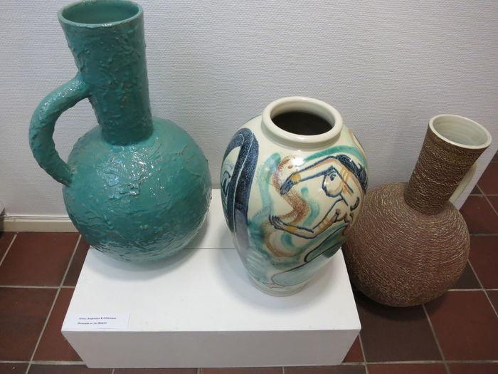 Urns, Andersson&Johansson. Museum Ceramic Museum Ceramics Andersson&Johansson