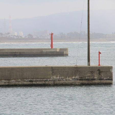 漁港  防波堤  海