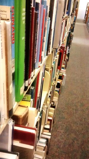 Library Reading Books