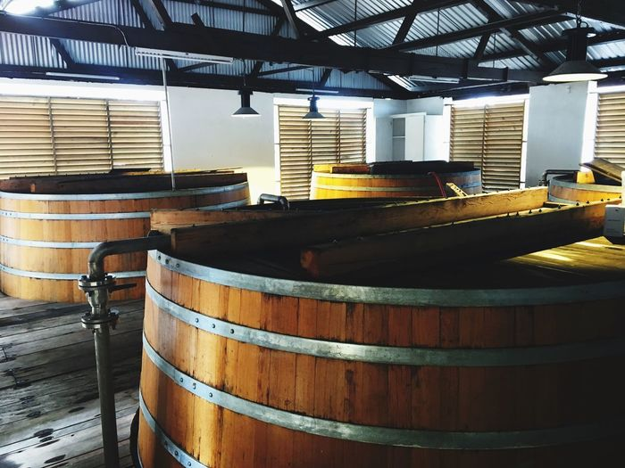 Barrel Indoors  Wood - Material Wine Cask Warehouse No People Factory Day