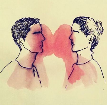 Sad Day Love Sadboy  Kiss Kisses❌⭕❌⭕ Tired Art Art, Drawing, Creativity Artphotography Art Yourself Artmyfeed