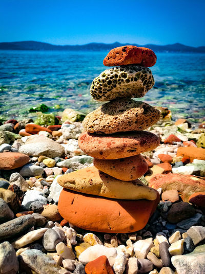 By the sea Nature Photography Nature_collection Nature Nature_perfection Croatiafulloflife Croatia Croatia_photography Instagood Nikonphotography Zadar Beach Rock EyeEm Selects Water Sea Sea Life Beach Sand Stack Pebble Coral Rock - Object Sky Seascape