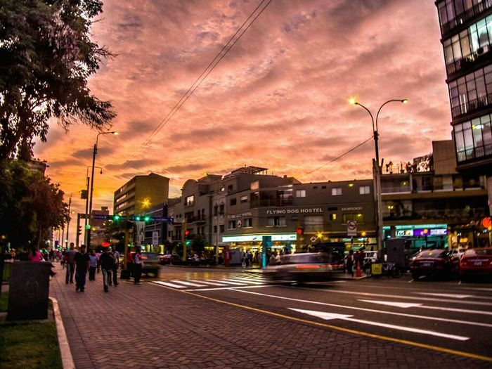 Hanging Out Sunset Sky Colors Colours Park Purple
