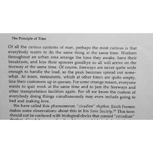 """Cicadian"" rhythm. Erich Fromm in Sane Society Learnsomething"