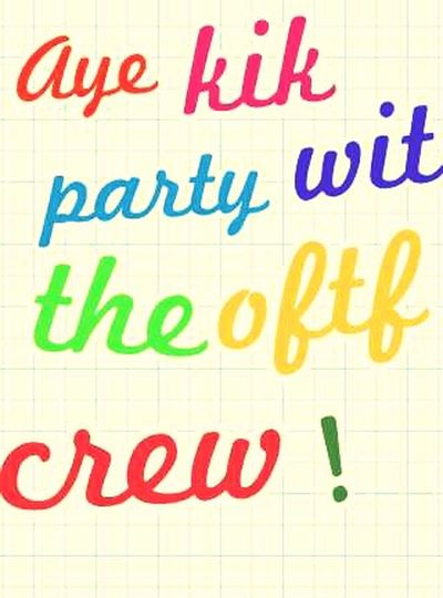 Kik Party