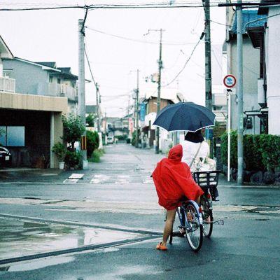 OSAKA Film Rain Photo