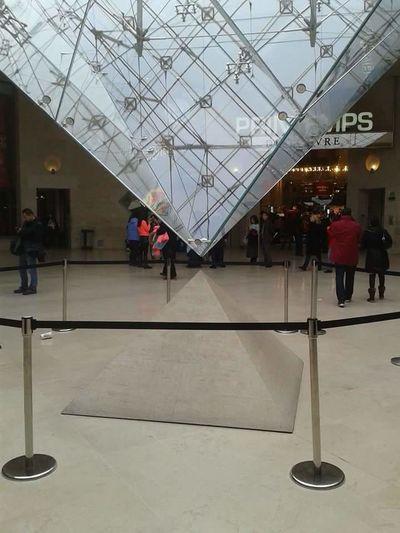 Paris Louvre Da Vinci Code Inverted Pyramid