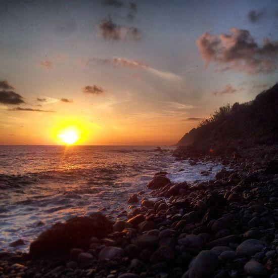 Tramonto Caprioli di Pisciotta Salerno Campania Mare Spiaggia Sunrise Beach Sea Palinuro