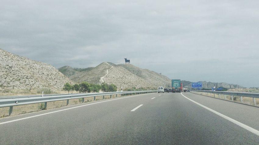 Carretera de la meta final Carretera Conducir Caminito