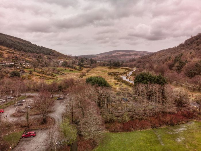 Glendalough village, Ireland 🇮🇪 2019 DJI Mavic Air DJI X Eyeem Drone Photograph Ireland Cloud - Sky Sky Plant Mountain Environment Scenics - Nature Landscape Day Tree Non-urban Scene No People Land Tranquility Tranquil Scene Nature Beauty In Nature Outdoors Travel Growth Mountain Range