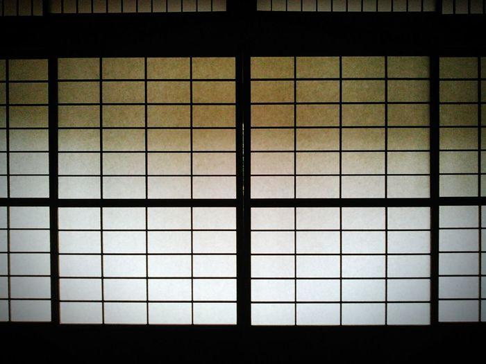 静けさを保つ障子。 京都 Kyoto 障子 Door Sliding Door 和室 日本家屋 Japanese Style Japanese Traditional Japanese House 日本 Japan