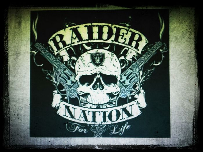 Raiders Black Sunday Just Win Baby TheBlackHole