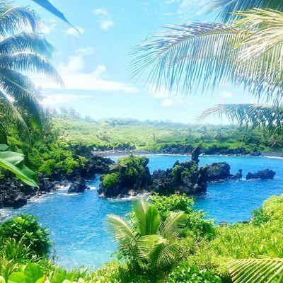 Maui Hawaii Roadtohana Tropical Tropical Paradise