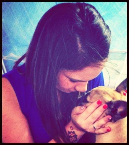 Io il mio cane lo amo come se fosse una persona anzi di più ❤ Nala❤