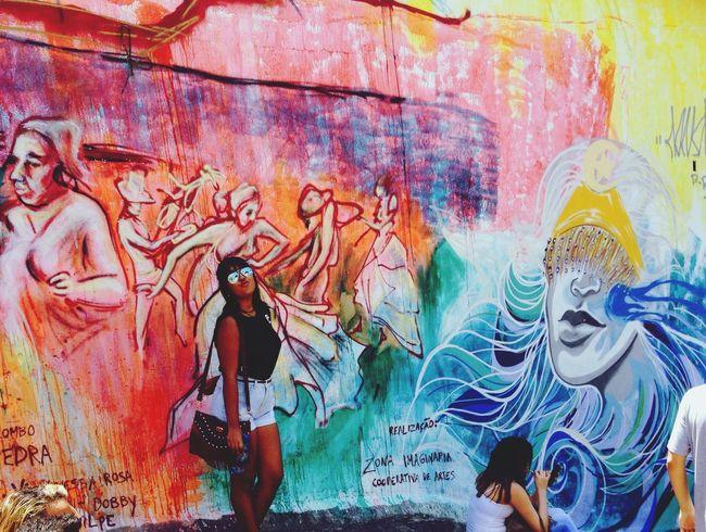 Arte Urbana Rio De Janeiro Pedra Do Sal