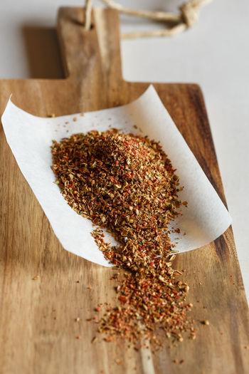 cajun spice mix Spicy Cajun Food And Drink Freshness Gourmet No People Seasoning Spice Spice Mix Spice Mixture Wood - Material