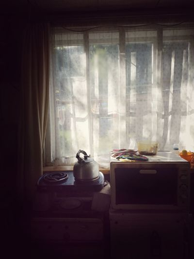 Window Domestic Room Curtain Window Radiator Home Interior Smoke - Physical Structure Served Prepared Food Window Sill Window Box Window Frame Vase Potted Plant