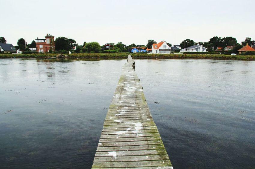 Water Waterfront Sea Ocean Jetty Walk Horizon Over Water Calm Tranquil Scene Pier Danmark Sweden Kopenhagen