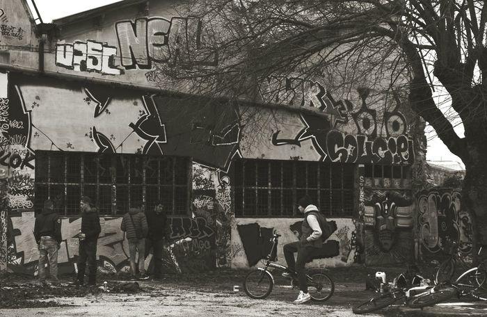 La Rochelle Graff Graffeur Ruins Blackandwhite Tags Streetart Urban Exploration The Human Condition