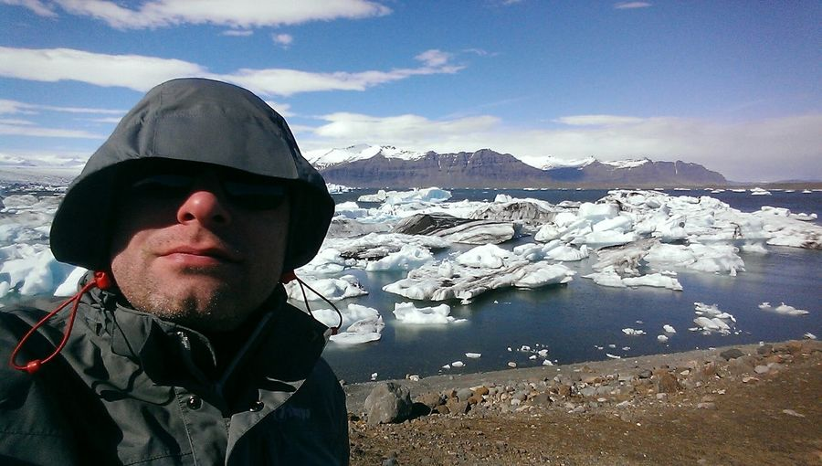 Check This Out That's Me Landscape Southiceland Iceland Enjoying Life Island Glacier Mountains Hello World