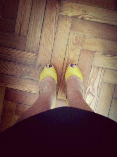 Vamonos! W/high Heels Yellow Shows