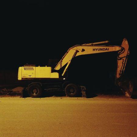 Yellow Night Tire No People PhonePhotography Tunisia Hyndai